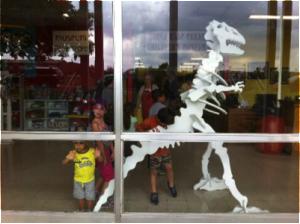 Dino-window